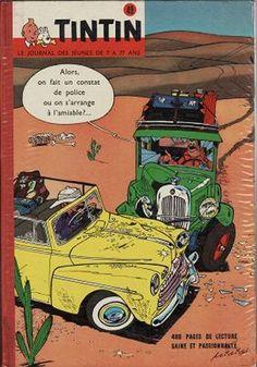 Le Journal de Tintin - Album Édition Belge N°  49 - Hebdos n° 723 à 732 - Couverture : Mittéï