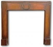 1932 art deco fireplace mantel in oak 1930s Fireplace, Art Deco Fireplace, Fireplace Mantels, Fireplaces, Fire Surround, Sitting Rooms, Fireplace Surrounds, Future House, Snug