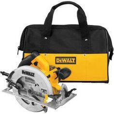 DEWALT 15 Amp 7-1/4 in. Lightweight Circular Saw with Electric Brake DWE575SB at The Home Depot