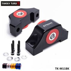 TANSKY - For Honda Civic EG EK JDM Engine Billet Motor Torque Mount Kit B16 B18 B20 D16 D15 TK-M11