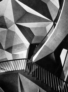 Teatro Regio, Turin, 1966, Carlo Mollino and Carlo Graffi