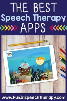 This list of speech therapy apps includes both free and paid suggestions for the iPad! These apps for speech therapy are great for toddlers at home through high school students, and they work great for teletherapy. They include articulation games, reinforcements, language activities, and open-ended tasks. I also included notes about which ones are my personal favorites and why I love using them for speech and language activities.