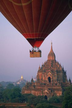 Bagan, Myanmar...Float in for lunch :)