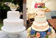 vintage tea cup cake toppers