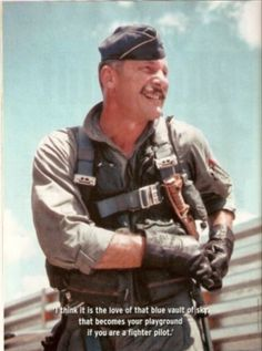 Colonel Robin Olds, the hero of Operation Bolo Fighter Pilot, Fighter Jets, Robin Olds, Army History, Vietnam War, Us Army, Air Force, Military, Drawing Sketches