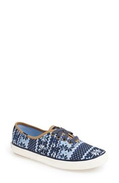Keds® Taylor Swift 'Champion - Fair Isle' Sneaker (Women) available at #Nordstrom
