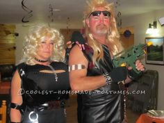 Supersized Beth and Dog the Bounty Hunter Couple Halloween Costume ...This website is the Pinterest of costumes