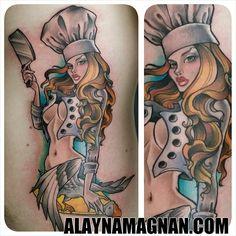 chef tattoos | Similar Galleries: Chef Hat Tattoos , Chef Tattoo Sleeve ,