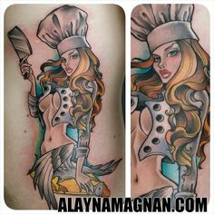 chef tattoos | Similar Galleries: Chef Hat Tattoos , Chef Tattoo Sleeve ,