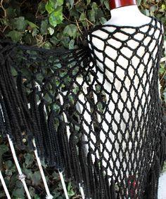 Bird of Prey - Free crochet shawl pattern by Veronica O'Neil.