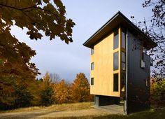 Sustentável Metal-Clad Torre casa possui Glen Lake um vidro Crown Com vista de Michigan | Inhabitat - Green Design, Inovação, Arquitectura, Construção Verde