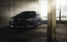 bmw m6 coupe f13 black car