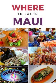 The decision to head to Maui is an easy one. Deciding the must eat places on Maui is much more difficult. Check out these favorites of where to eat in Maui! Oahu, Maui Hawaii, Hawaii 2017, Lahaina Maui, Hawaii Usa, Hawaii Life, Kaanapali Maui, Wailea Beach, Visit Hawaii