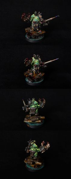 40k - Ork Looted Nurgle Lord by fantasygames