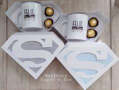 Sweet Box, Dad Day, D Craft, Ideas Para Fiestas, Fathers Day, Origami, Cricut, Mugs, Creative