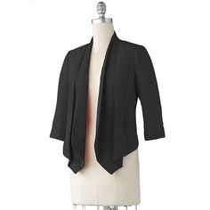 LC Lauren Conrad cropped light-weight jacket... perfect staple for spring/summer and even fall!