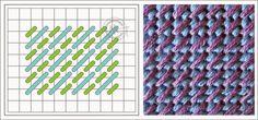 """Милые сердцу штучки: Техники вышивания. Часть 20: """"Мозаичные швы"""" (Mosaic Stitch)"""