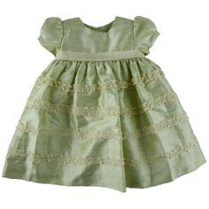 Luli & Me Organza Silk Ruffle Lace Dress « Clothing Impulse