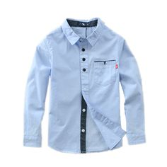 Hot Sale Children Boys Shirts Cotton Solid Kids Shirts Clothing For Years Wear Boys Fall Fashion, Boy Fashion, Fashion Dolls, Baby Shirts, Kids Shirts, Kids Wear Boys, Plain Shirts, Boy Outfits, Clothes
