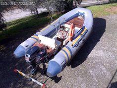 Vendo #gommone #Marlin Boat 4,80  #motore #Envirude 737 #Motore #Suzuki 4cv  4 t #Carrello #Ellebi ... #annunci #nautica #barche #ilnavigatore