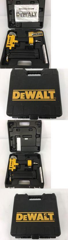 staple and brad guns dewalt dwfp12231 pneumatic 18gauge 2inch brad nailer kit u003e buy it now only on ebay pinterest