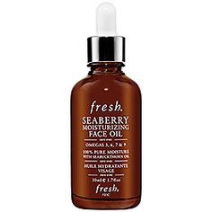 Winter's Coming and I'm thinking of adding this to my beauty regimen. Oil for your face? Fresh - Seaberry Moisturizing Face Oil