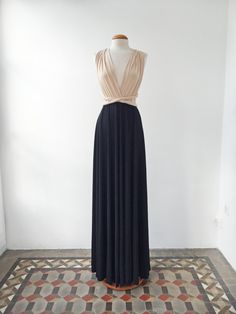 Nude black dress nude long dress black long dresses by mimetik