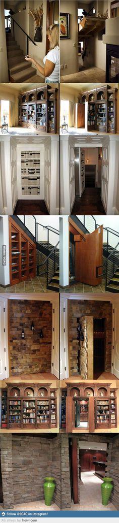 I need a Secret door in my house