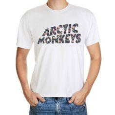 ARCTIC MONKEYS INDIE ROCK VINTAGE FLORAL BAND TEE MUSIC T-SHIRT - Arctic Monkeys #Gildan