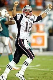 Tom Brady became the 11th NFL quarterback to throw for at least 500 yards in a game.