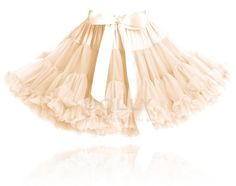 DOLLY by Le Petit Tom ® PRINCESS IVORY pettiskirt cream