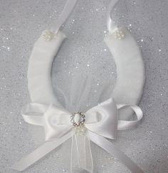 Brides gift idea..lucky horseshoe..bride by noordinarybib on Etsy