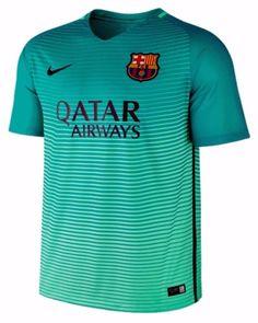 052cd5a6ea7 Nike luis suarez fc barcelona third jersey 2016 17 qatar