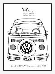 Image result for vw camper van cartoon sketch
