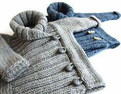 Expression of Knitting Booties – sevda – Willkommen in der Welt der Frauen Baby Knitting Patterns, Knitting For Kids, Crochet For Kids, Baby Patterns, Hand Knitting, Knit Crochet, Gestrickte Booties, Knitted Booties, Knitted Coat