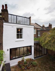 agrandir sa maison veranda par le toit plan construction decoration facade maison
