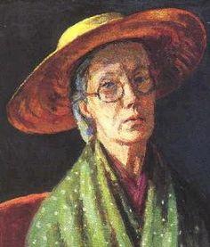 Vanessa Bell (Virginia Woolf's sister), self-portrait