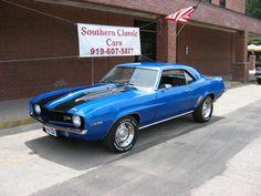 DuPont Automotive Metallic Spanish blue | Camaro 69