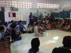 We hold a Mohaori music demonstration at Tiny Toones break-dance organization last Friday - that was great fun! This demonstration, led by our teacher Noy Sitha and his students, aimed to provide understanding about the characteristics and how to play and sing Mohaori to the students; and especially, to encourage them to appreciate and preserve this traditional art form. More photos: https://www.facebook.com/media/set/?set=a.10151734865110936.1073741854.260631265935&type=1