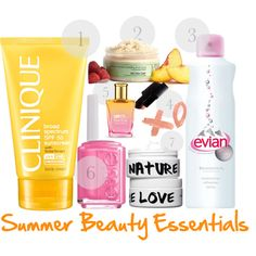 Our Top 7 Summer Beauty Essentials