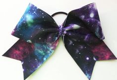 Galaxy Cheer Bow by Justcheerbows on Etsy, $10.00
