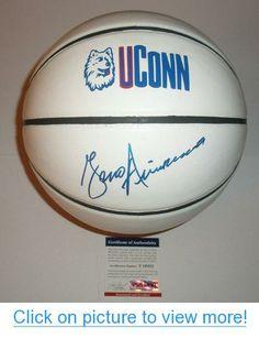 Geno Auriemma Signed Autograph UConn Huskies Basketball *PSA COA* Connecticut