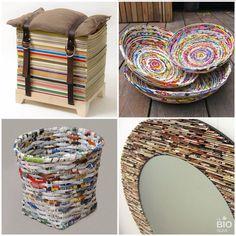 1000 Images About Reciclar Revistas On Pinterest