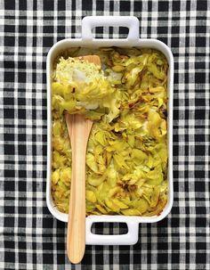 Gratin de poisson au curry pour 6 personnes - Recettes Elle à Table