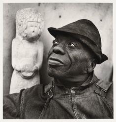 William Edmondson, Sculptor, Nashville, 1933 by Louise Dahl-Wolfe on Curiator, the world's biggest collaborative art collection.