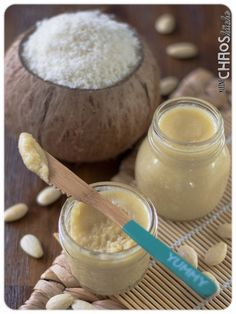 Kokos-Mandel-Creme von Melanie von Kleine Chaosküche