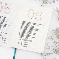 "1,078 Likes, 22 Comments - Federica • Bullet Journal (@feebujo) on Instagram: ""05 and 06 July You know, I like to try new layouts, this time I decided to draw little roses on…"""