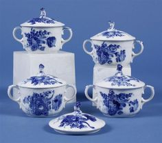 Pacific Galleries Auction House and Antique Mall, Seattle Washington Blue And White China, Blue China, Copenhagen Denmark, Royal Copenhagen, Blue Kitchen Accessories, White Dishes, Moody Blues, Fine Art Auctions, Snow Queen