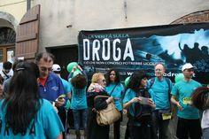 Comunicato Stampa: Distribuzione di opuscoli informativi a Firenze, nelle strade del quartiere Novoli, per dire NO alla droga