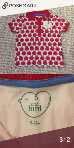 Little Bird Apple Shirt 9-12 Month Little Bird Apple Shirt. Bought at a boutique in Ireland. Little Bird Shirts & Tops Tees - Short Sleeve